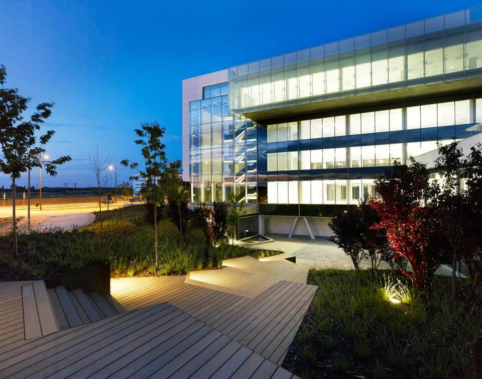 Edificio de oficinas cps empresa de dom tica en madrid - Empresas domotica madrid ...