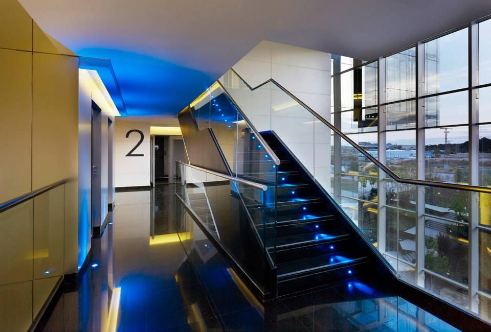 Edificio de oficinas cps empresa de dom tica en madrid for Edificio oficinas valencia